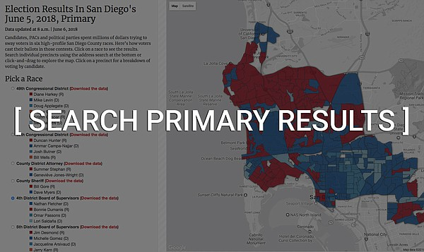 Click here to explore voting results by precinct in six o...