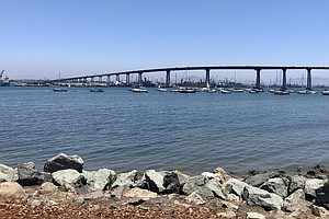 Photo for Caltrans Is Putting Spikes On Coronado Bridge In Effort To Prevent Suicides
