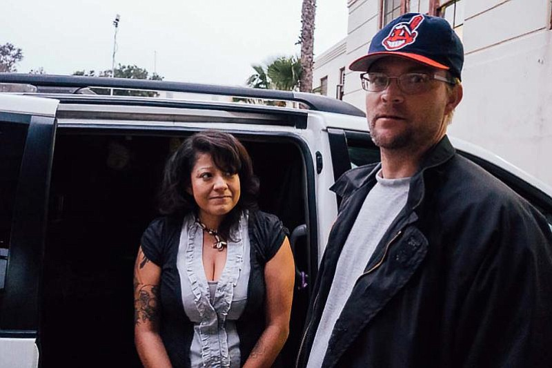 Army veteran Adam John Halvorsen and his girlfriend, Angela Del Castillo, are...