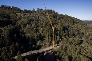 Photo for California Eyes July For Reopening Iconic Highway 1 Stretch