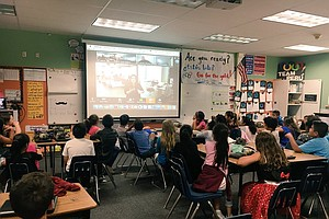 Photo for Goodbye Buses, Hello Virtual Field Trips: Tech Takes El Cajon Students Beyond...