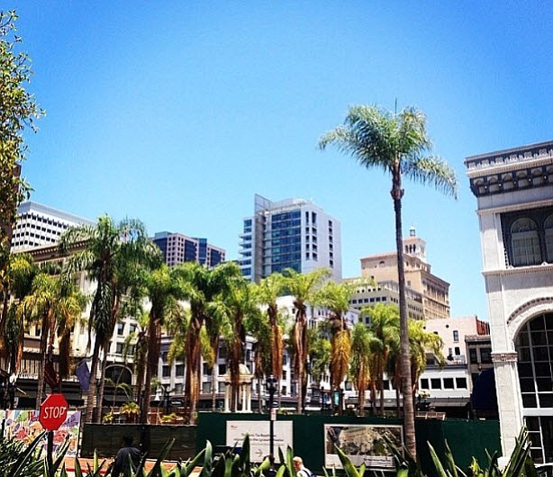 Downtown San Diego is pictured in this undated photo.