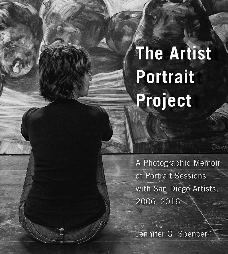 "The cover of ""The Artist Portrait Project: A Photographic Memoir Of Portrait ..."