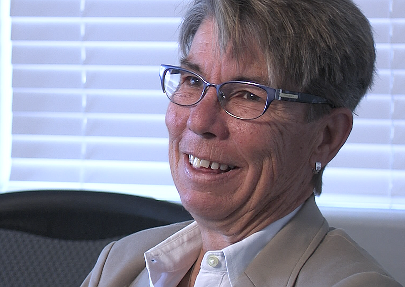 Dr. Delores Jacobs, outgoing chief executive of the San Diego LGBT Community ...