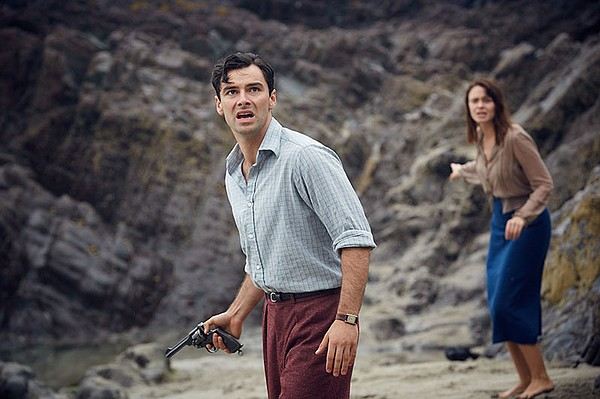 Aidan Turner and Maeve Dermody in a scene from AND THEN T...