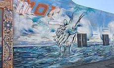 A mural by artists William Salas and Fabiana Fo...