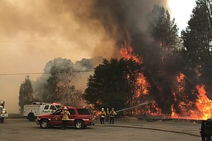 Evacuations Lifted In Northern California Wildfire Area