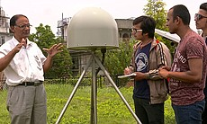 Scientists in Nepal.