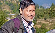 Geologist Bishal Upreti is an academic at the D...