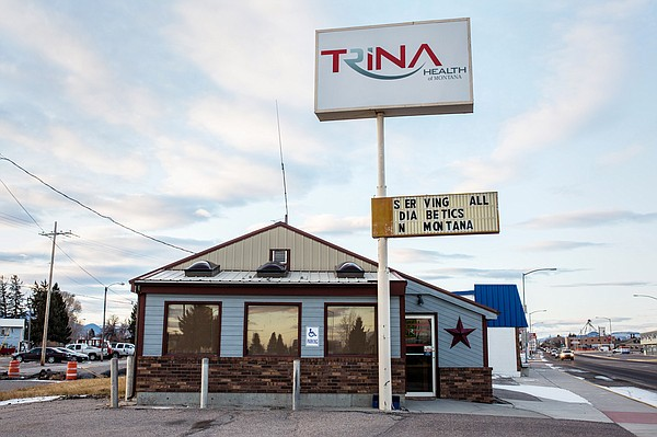 The Trina Health Clinic in Dillon, Montana, photographed ...
