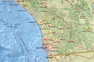 3.1 Magnitude Earthquake Felt In San Diego, Cathedral Cit...