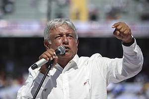 Mexicans Want To Throw Out Status Quo In Presidential Vote