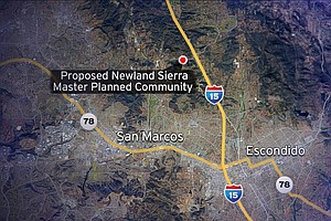 San Diego County Voters To Decide Fate Of Newland Sierra ...