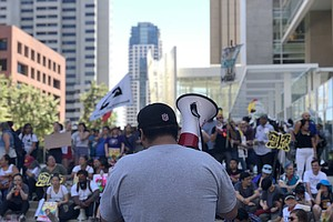 San Diego Protest Of Trump's Immigration Policies Draws 8...