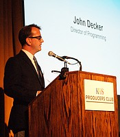 KPBS Director of Programming John Decker at Producers Club's New Member Reception.