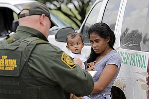 Photo for ACLU Seeks Review Of Treatment Of Pregnant Women Detained By Border Patrol