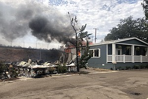 Alpine Center Assisting Fire Victims