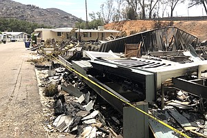 Residents Who Lost Homes In San Diego County's West Fire ...