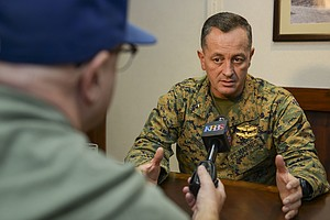 Camp Pendleton General Sanctioned Over Misuse Of Personal...