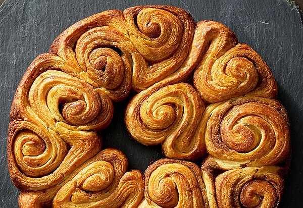 A pull-apart cinnamon and brown butter swirl designed to ...