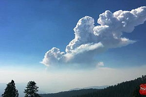 Growing Fire Shows Potential For Explosive Northwest Season