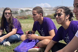 Teens From Middle East Visit US Border, Discuss Israeli-P...