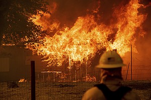 Twin Wildfires Threatening 10,000 California Homes