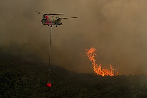 California's Biggest Blaze More Than Half Contained