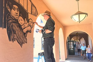 Photo for Tijuana Artist Highlights Trump's Family Separation Policy Through San Diego ...