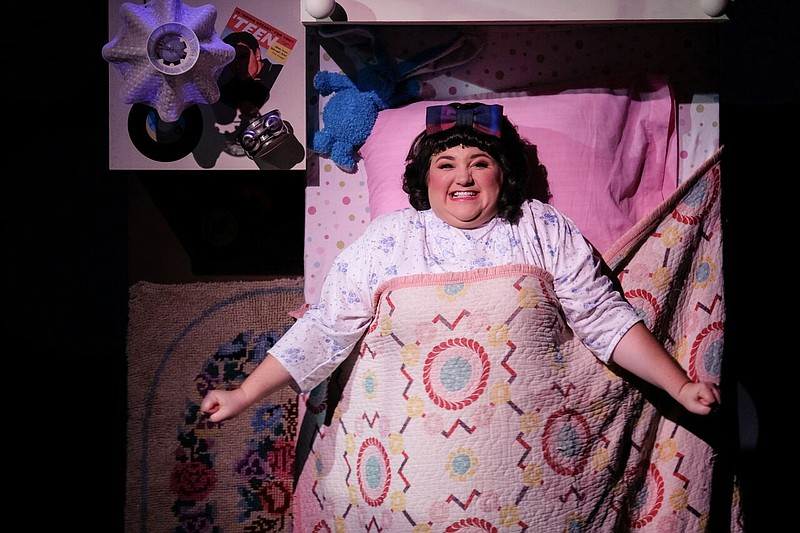 A 2018 photo of Bethany Solmka as Tracy Turnbland in San Diego Musical Theatr...