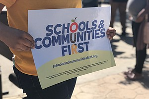Photo for San Diego Leaders Tout Change To Prop. 13 That Would Boost School Funding