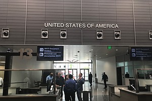 New Pedestrian-Processing Building Opens At San Ysidro Po...