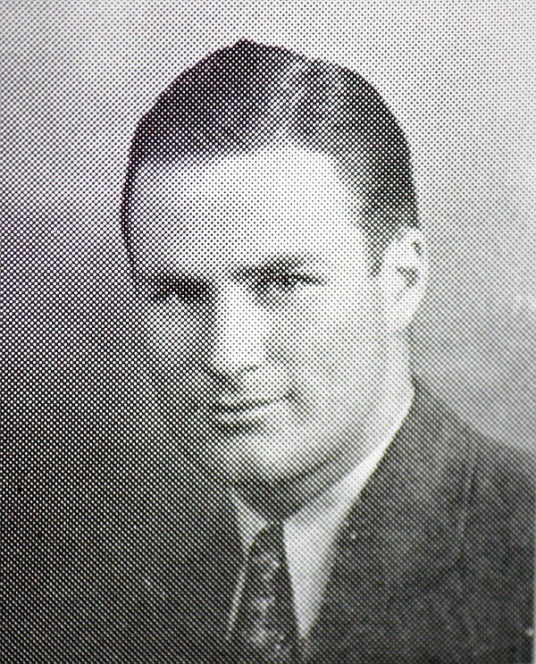 Bill Vogt in his yearbook photo in 1933.