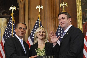 Rep. Duncan Hunter, Wife, To Be Arraigned For Alleged Mis...