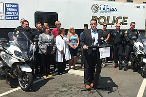 San Diego Health Officials, Police Warn Of Dangers Of Dri...