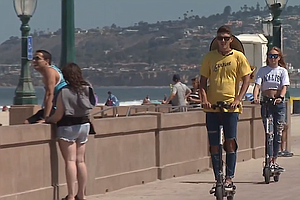 Photo for San Diego City Council Bans Electric Scooters On Boardwalks
