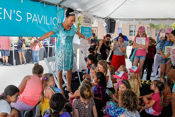 A 2017 photo from The San Diego Festival of Books.