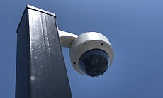 A parking lot security camera is show at Epipha...