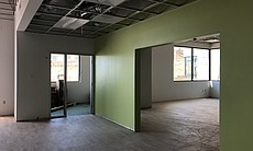 Neighboring classrooms with an adjoining learni...