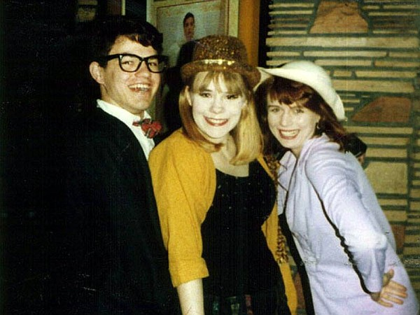 Author Richard Andreoli (left) was part of the early