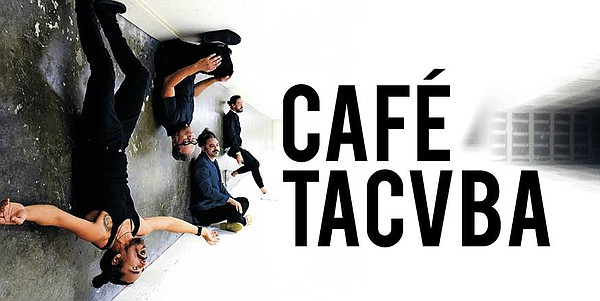 A promotional poster for the band Cafe Tacvba.