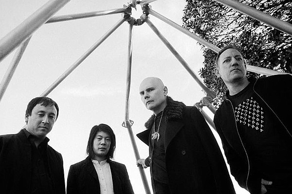 A 2018 promotional photo of The Smashing Pumpkins.