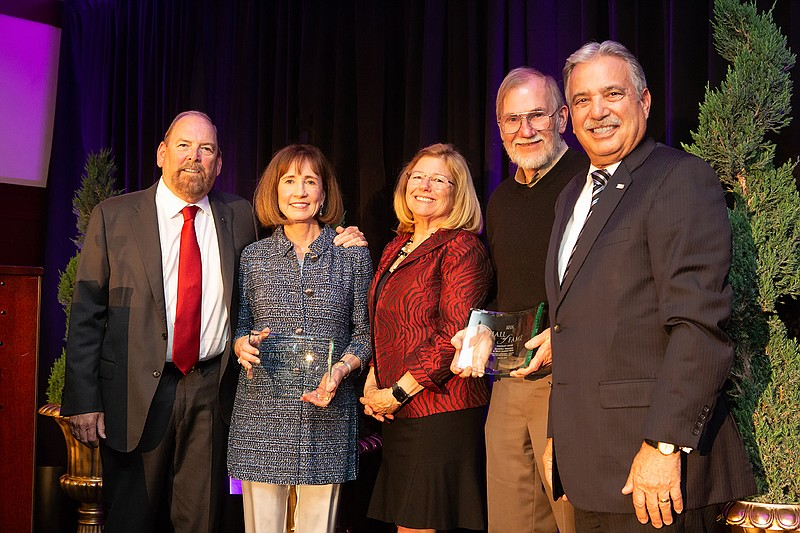 2018 KPBS Hall of Fame Visionaries Keith Behner, Catherine Stiefel, Sandra Ti...