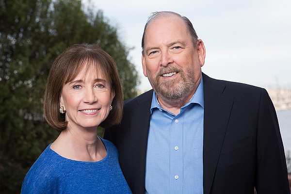 Catherine Stiefel and Keith Behner, 2018 KPBS Hall of Fam...