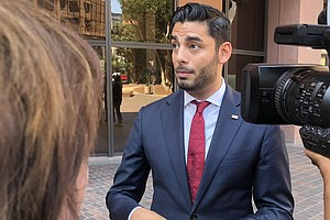 Photo for Ammar Campa-Najjar Discusses His Second Run For Congress
