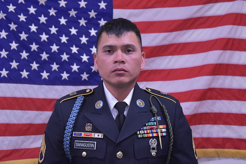 Staff Sgt. Diobanjo S. Sanagustin is shown in this undated photo.