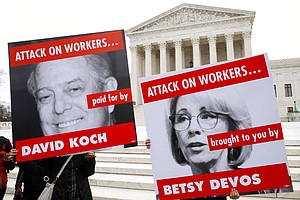 Photo for Court Sides With California In Fight Over Koch Group Donors