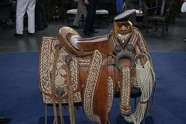 A Mexican Charro saddle, ca. 1940 appraised by Bruce M. S...