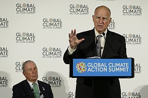 Photo for Global Summit Rebukes Trump, Cheers On Work To Aid Climate