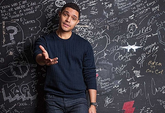 A promotional photo of comedian Trevor Noah.